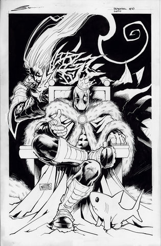 Gerardo Sandoval Original Art Deadpool #10 Cover