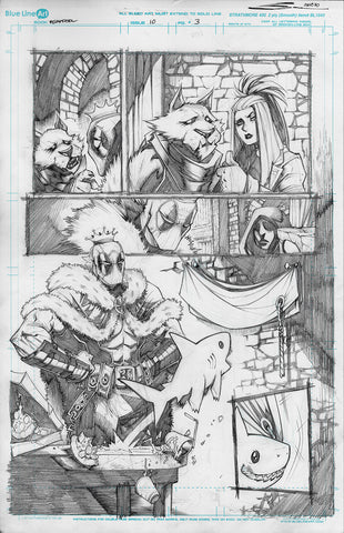 Gerardo Sandoval Original Art Deadpool #10 Page 3