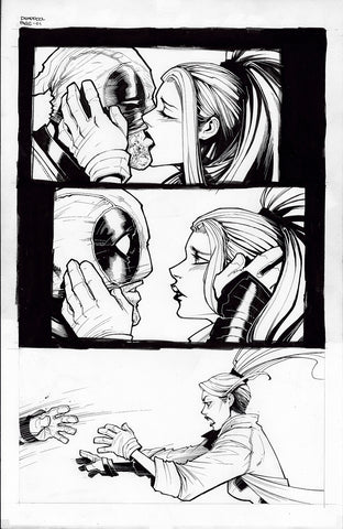 Gerardo Sandoval Original Art Deadpool #7 Page 1