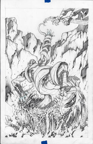 Gerardo Sandoval Original Art Deadpool #7 Page 2