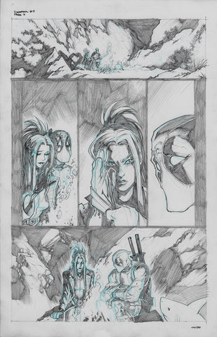 Gerardo Sandoval Original Art Deadpool #7 Page 7