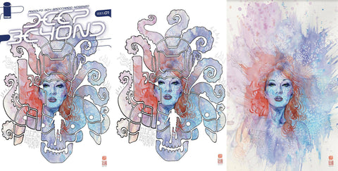 Deep Beyond #1 BCC Exclusive Three Cover Set by David Mack