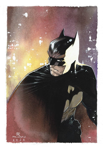 Dike Ruan Original Art Batman Illustration