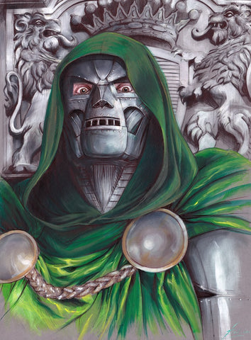 Fred Ian Original Art Doctor Doom