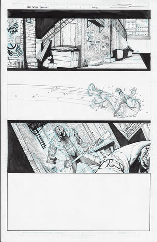 Gerardo Sandoval Original Art Edge of Spider-Geddon #1 Page 1