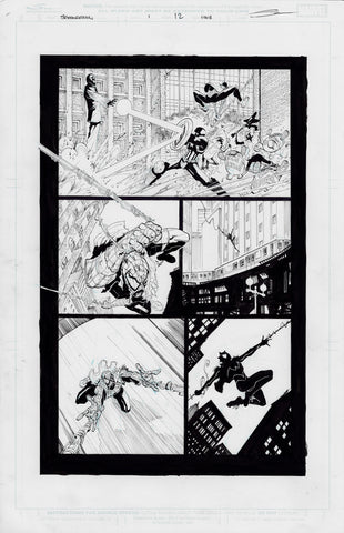 Gerardo Sandoval Original Art Edge of Spider-Geddon #1 Page 12