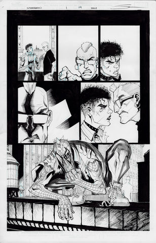 Gerardo Sandoval Original Art Edge of Spider-Geddon #1 Page 14