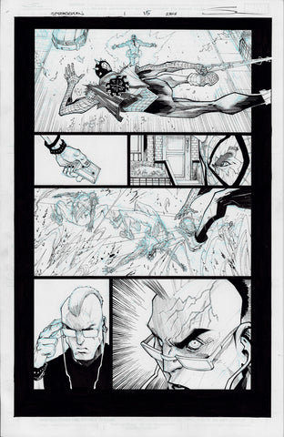 Gerardo Sandoval Original Art Edge of Spider-Geddon #1 Page 15