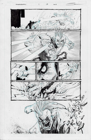 Gerardo Sandoval Original Art Edge of Spider-Geddon #1 Page 17