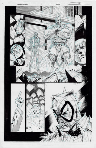 Gerardo Sandoval Original Art Edge of Spider-Geddon #1 Page 18