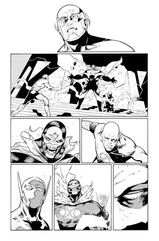Rafa Sandoval Original Art Flash #750 Page 29