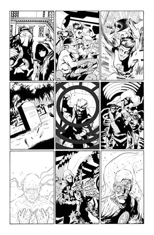 Rafa Sandoval Original Art Flash #750 Page 5