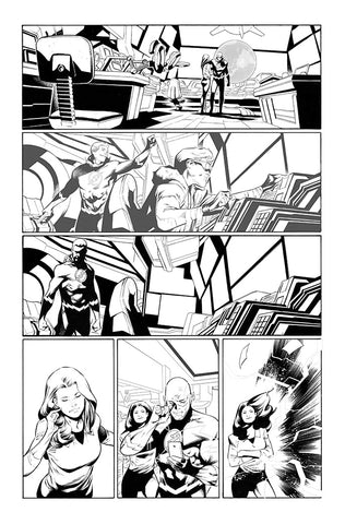 Rafa Sandoval Original Art Flash #750 Page 7