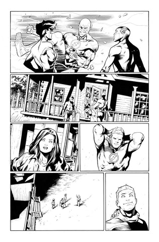 Rafa Sandoval Original Art Flash #759 Page 15