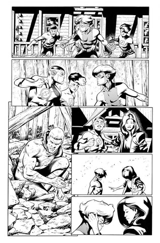 Rafa Sandoval Original Art Flash #759 Page 17