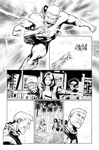 Rafa Sandoval Original Art Flash #759 Page 19