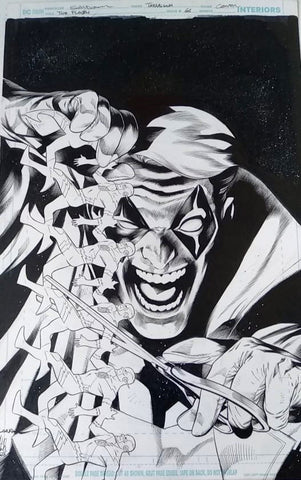 Rafa Sandoval Original Art Flash #66 Cover