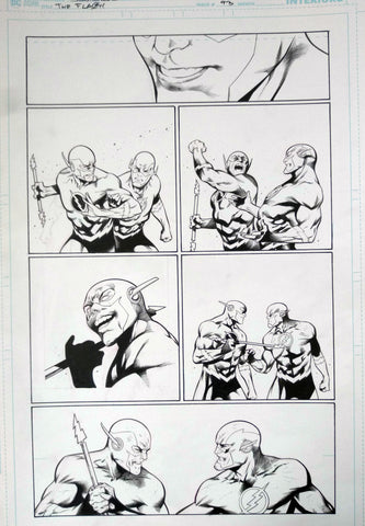 Rafa Sandoval Original Art Flash #754 Page 13