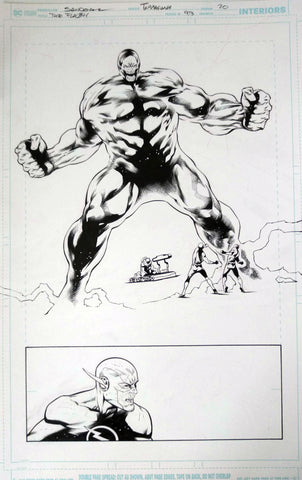Rafa Sandoval Original Art Flash #754 Page 20