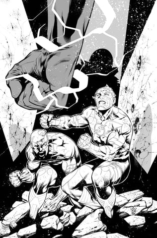 Rafa Sandoval Original Art Flash #755 Cover