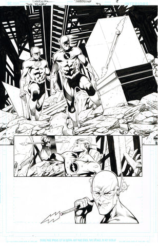 Rafa Sandoval Original Art Flash #754 Page 8