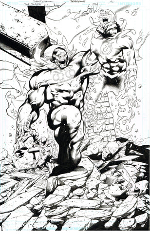 Rafa Sandoval Original Art Flash #754 Page 10