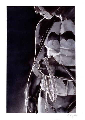 Guillaume Martinez Original Art Golden Age Batman Illustration