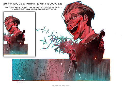 "Dike Ruan Art Book Vol.2 & 20x14"" Giclee Print Set"