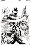 Paco Diaz Original Art GI Joe Snake Eyes: The Origin Cover