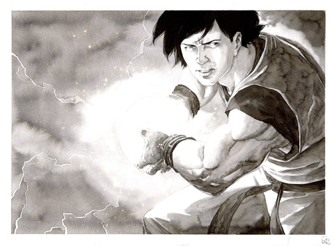 Guillaume Martinez Original Art Goku (Dragon Ball Z) Illustration