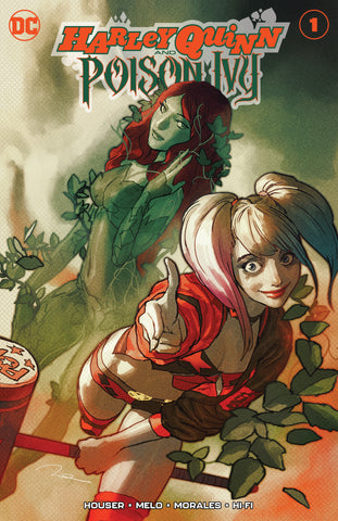 NYCC 2019 Exclusive Harley Quinn & Poison Ivy #1 1000 Limited Cover by Gerald Parel