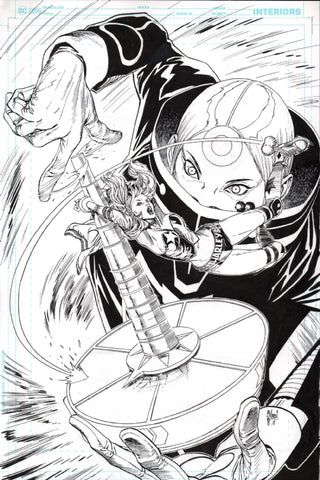 Guillem March Original Art Harley Quinn #53 Cover