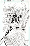 Guillem March Original Art Harley Quinn #68 Cover