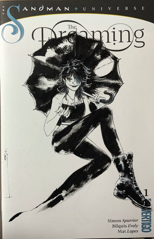 Helena Masellis Original Art Death Blank Cover Illustration