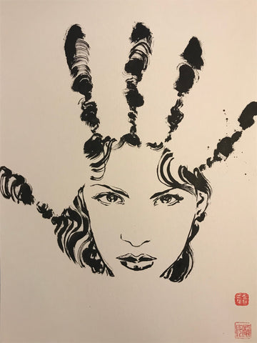 David Mack Original Art Echo Brush & Ink Collection