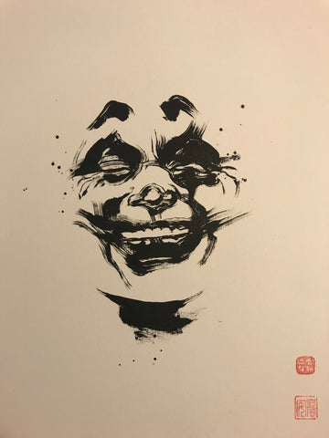 David Mack Original Art Joker Brush & Ink Collection