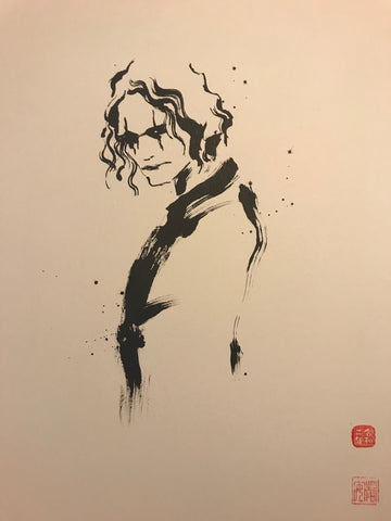 David Mack Original Art The Crow Brush & Ink Collection