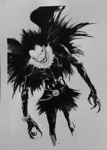 Helena Masellis Original Art Ryuk Death Note Illustration