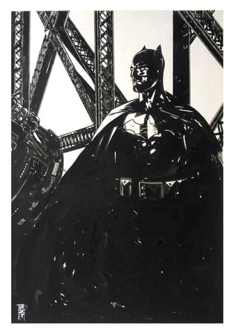Alex Maleev Original Art Batman Illustration