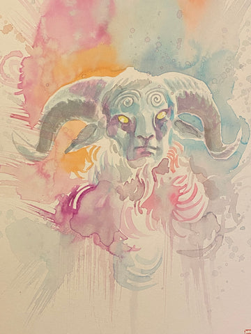 David Mack Original Art Guillermo Del Toro Pan's Labyrinth Art Book Published Illustration