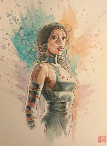 David Mack Original Art Echo Price Guide Cover