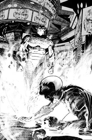 Javier Fernandez Original Art Justice League #27 Page 4