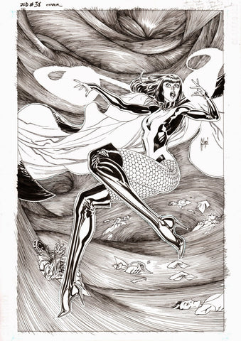 Guillem March Original Art Justice League Dark #38 Cover