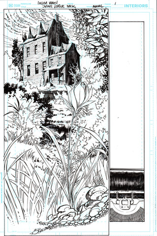 Guillem March Original Art Justice League Dark #1 Page 1