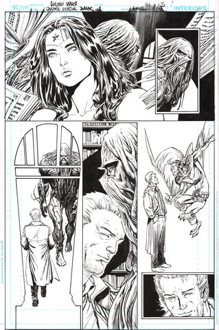 Guillem March Original Art Justice League Dark #1 Page 3