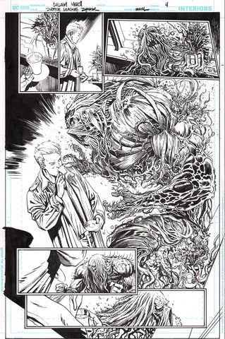 Guillem March Original Art Justice League Dark #1 Page 4