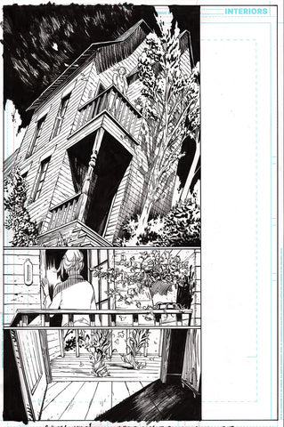 Guillem March Original Art Justice League Dark #1 Page 13