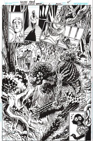 Guillem March Original Art Justice League Dark #1 Page 15