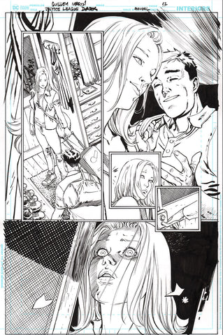 Guillem March Original Art Justice League Dark #1 Page 17