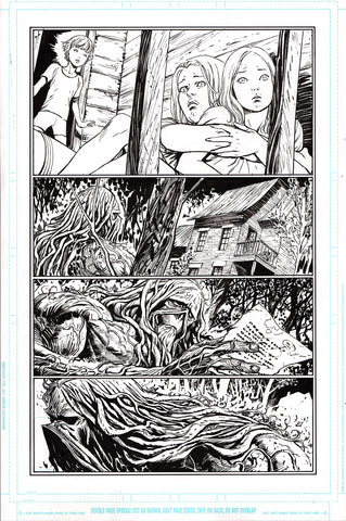 Guillem March Original Art Justice League Dark #1 Page 23